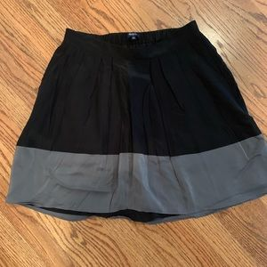 Made well color block skirt